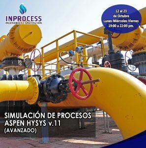 Simulación de Procesos con  Aspen HYSYS v.11 (Avanzado)
